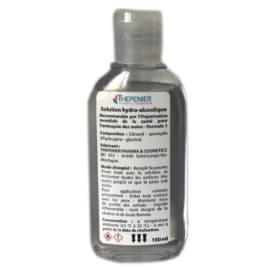 Solution hydroalcoolique flacon de 100ml photo du produit