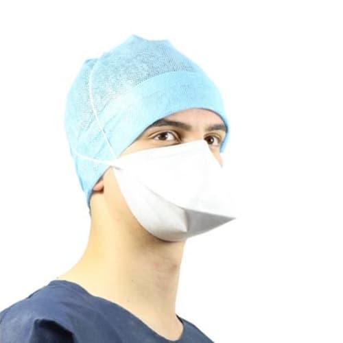 Masque médical et de protection Op-Air Pro OXYGEN FFP2 NR D type IIR blanc grande taille en vrac photo du produit