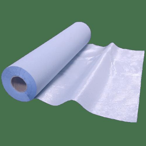 Drap d examen rouleau ouate bleue plastifié 48 formats 75 x 192 cm photo du produit