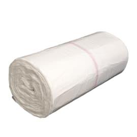 Sac plastique PE HD Héracène 30L blanc 7µm photo du produit