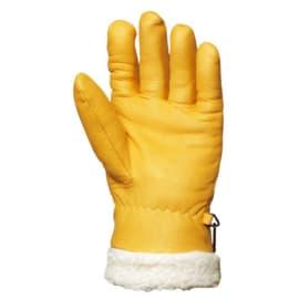 Gant protection froid Cariste fleur de bovin jaune taille 9 photo du produit