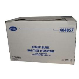 Essuyage non tissé Néolis blanc 35,5 x 42,8 cm photo du produit