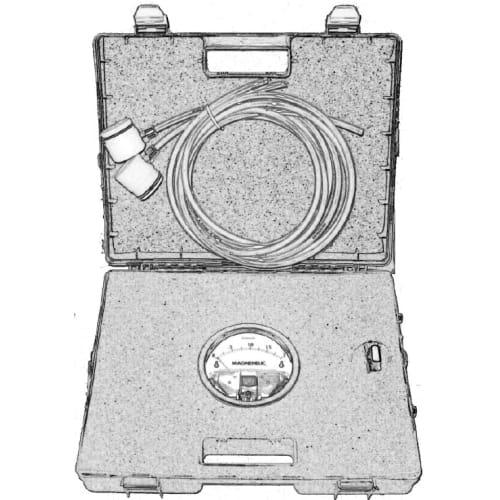 Malette de contrôle de pression pour scaphandres Gasguard T1 ou Tychem TK photo du produit