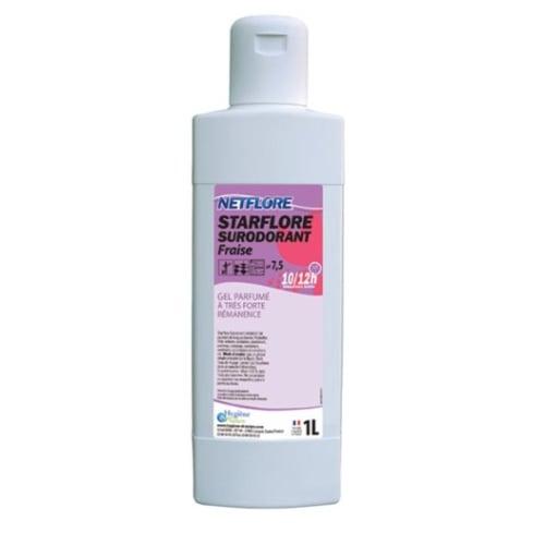 Gel surodorant fraise flacon de 1L photo du produit