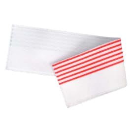 Bandeau de lavage Ultimate 3D Infinite blanc/rouge 11,5 x 50 cm photo du produit