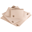 Serviette de table GC NATURE ouate 17x20 2 plis Kraft pliage en Z pour distributeur photo du produit