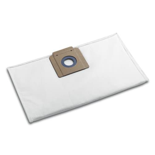Sac filtrant non tissé papier toison indéchirable pour aspirateurs Karcher photo du produit