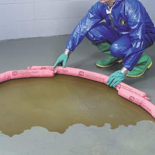 Boudin absorbant PIG® Haz-Mat pour produits chimiques 117 x 8 cm photo du produit Side View L
