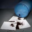 Absorbant en feuilles PIG® Essentials triple épaisseur pour hydrocarbures 38 x 48 cm photo du produit Side View S