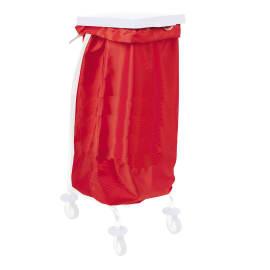 Sac à linge 65L 170g/m² rouge photo du produit