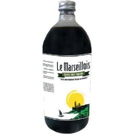 Le Marseillois savon noir liquide flacon de 1L photo du produit