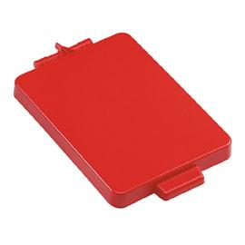 Couvercle pour support sac 2x70L PLP rouge photo du produit