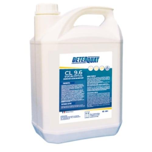 Deterquat CL 9.6 désinfectant eucalyptus bidon de 5L photo du produit