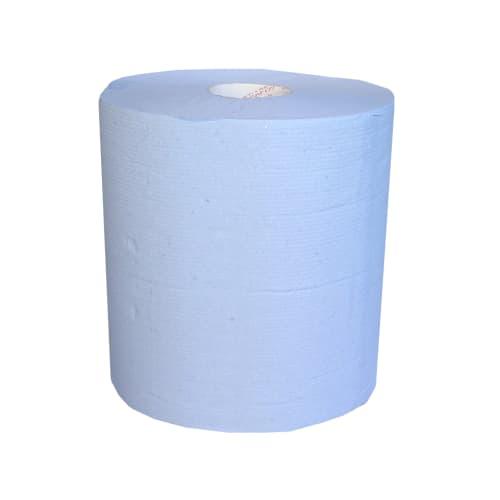 Bobine d essuyage bleue 2 plis 1000 formats 20 x 29 cm photo du produit