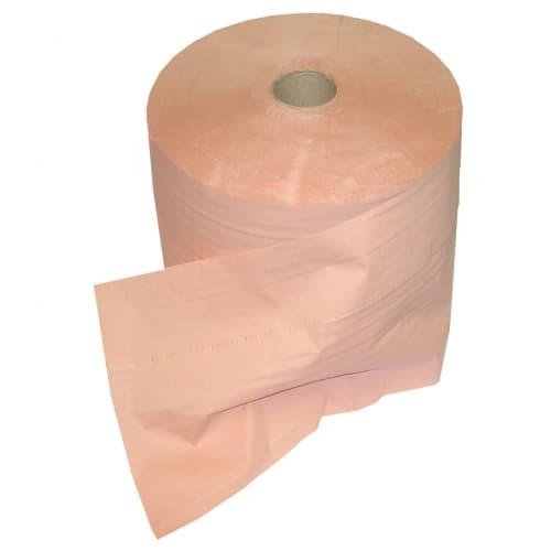 Bobine d essuyage orangée 2 plis 1000 formats 21 x 35 cm certifié Ecolabel photo du produit