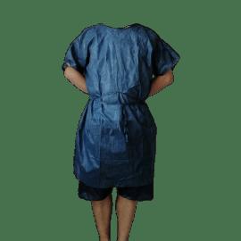 Kit d opéré court SMS 30g/m² chemise et caleçon photo du produit