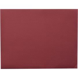 Nappe de table papier 60 x 60 cm bordeaux photo du produit