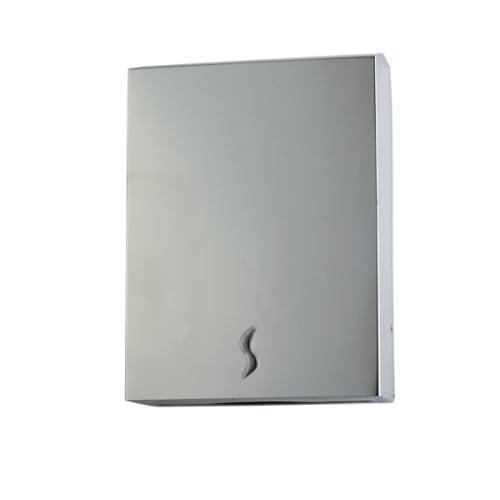 Distributeur d essuie-mains pliés 400 formats inox brossé photo du produit