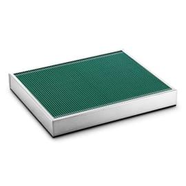 Filtre plastique vert plat pour balayeuses Karcher photo du produit