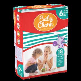 Couche culotte Baby Charm Super Dry XL +16kg photo du produit