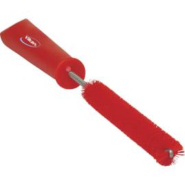 Écouvillon fibres dures alimentaire Ø1,5cm 31cm rouge photo du produit