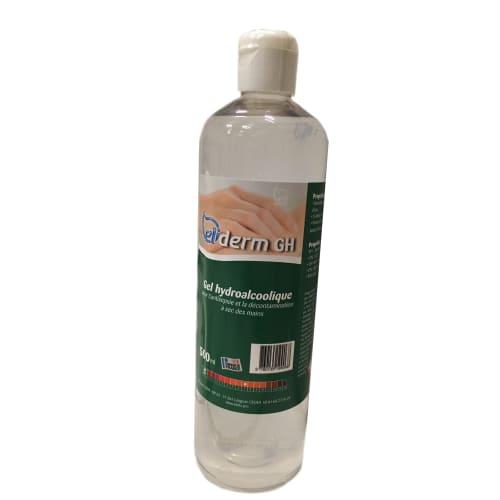 Eliderm Gel hydroalcoolique flacon de 500ml photo du produit