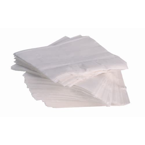 Serviette papier 2 plis 38 x 38 cm blanc photo du produit
