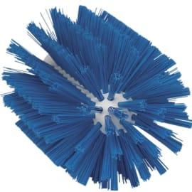 Brosse cylindrique fibres médium alimentaire PLP Ø10,3cm bleu photo du produit