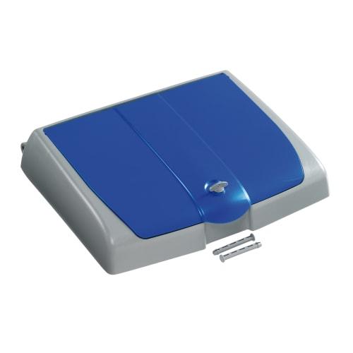 Couvercle pour support sac 150L PLP bleu avec compartiment photo du produit