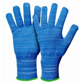 Gant protection anti-coupures alimentaire indice 5/5 fibres inox/polyéthylène/polyester bleu taille 10 photo du produit