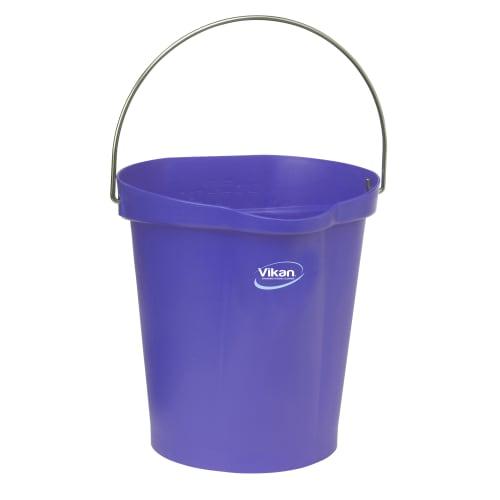 Seau gradué alimentaire PLP 12L violet photo du produit