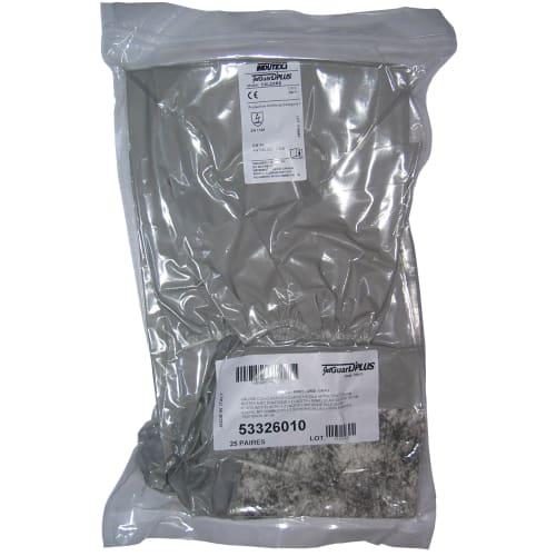 Surbotte de protection Jetguard Plus grise semelle antidérapante 4 lacets 36cm photo du produit Back View L