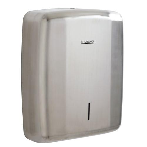 Distributeur d essuie-mains pliés inox brossé photo du produit