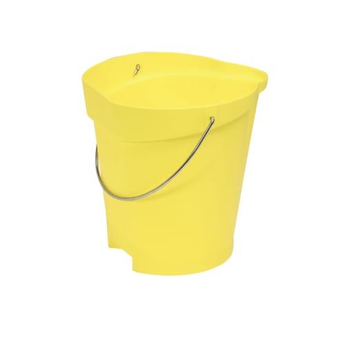 Seau gradué alimentaire PLP 12L jaune photo du produit