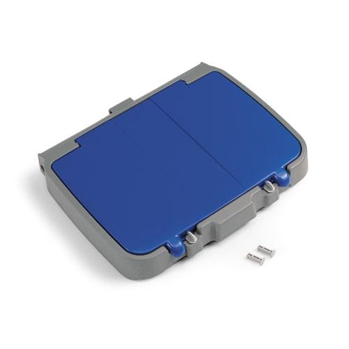 Couvercle pour support sac 120L PLP bleu avec compartiment photo du produit