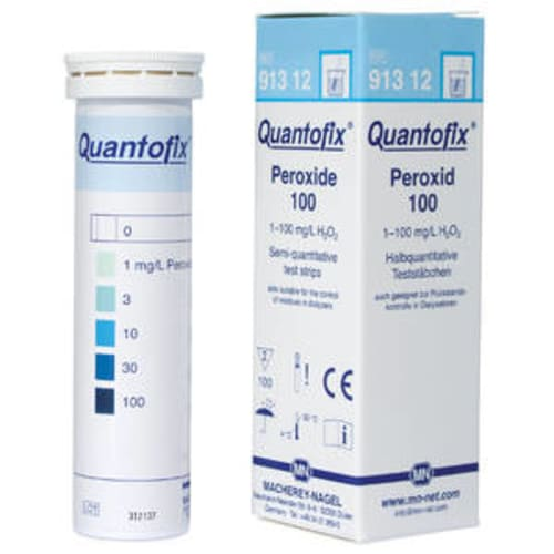 Bandelette d analyse peroxyde 100 photo du produit