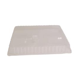Couvercle pour plateau repas 5 compartiments format gastronorme 324 x 264mm transparent photo du produit