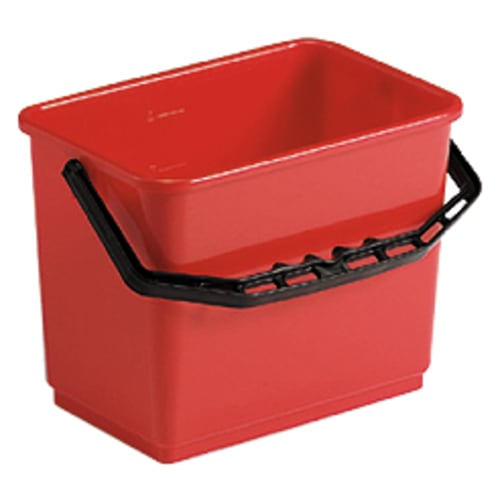 Seau PLP 4L rouge photo du produit