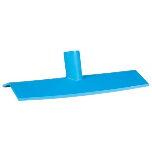 Grattoir poussoir alimentaire polyamide 27cm bleu photo du produit