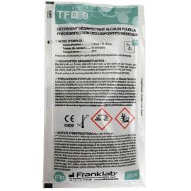 TFD9 pré-désinfectant instruments doses de 20ml photo du produit