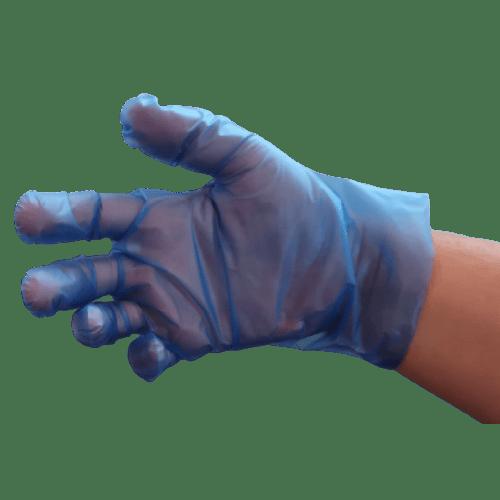 Gant à usage unique TPE PROP Soft Premium bleu taille L photo du produit