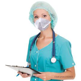 Masque de protection respiratoire FFP2 NR blanc EN149 :2009 photo du produit