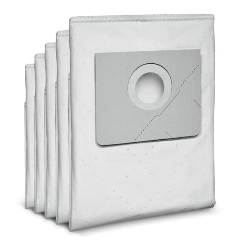 Sac filtrant non tissé papier toison 5 Stk. indéchirable pour aspirateurs eau et poussière Karcher photo du produit
