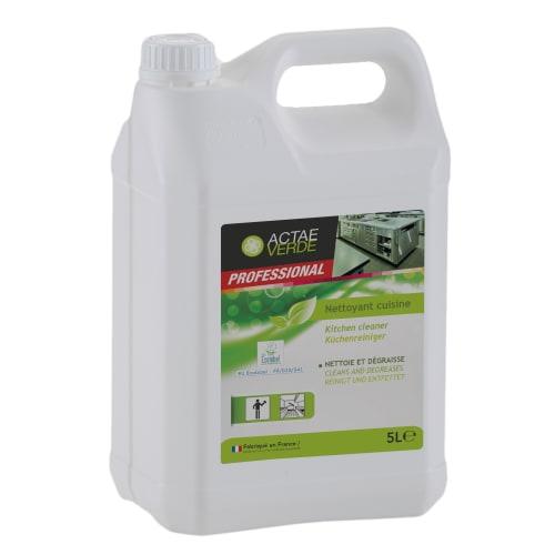Actae Verde nettoyant cuisine certifié Ecolabel bidon de 5L photo du produit