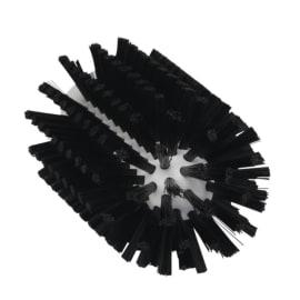 Brosse cylindrique fibres médium alimentaire PLP O7,7cm noir photo du produit