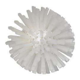 Brosse cylindrique fibres médium alimentaire PLP Ø13,5cm blanc photo du produit