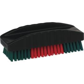 Brosse à ongles fibres dures PLP 12cm noir photo du produit