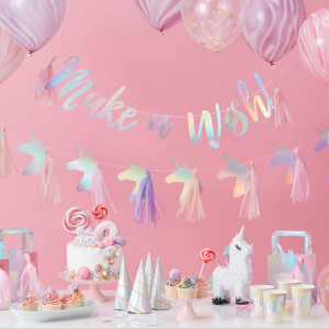 Make a Wish Unicorn Party