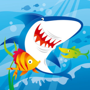 Happy Little Shark