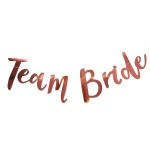 Team Bride Bunting